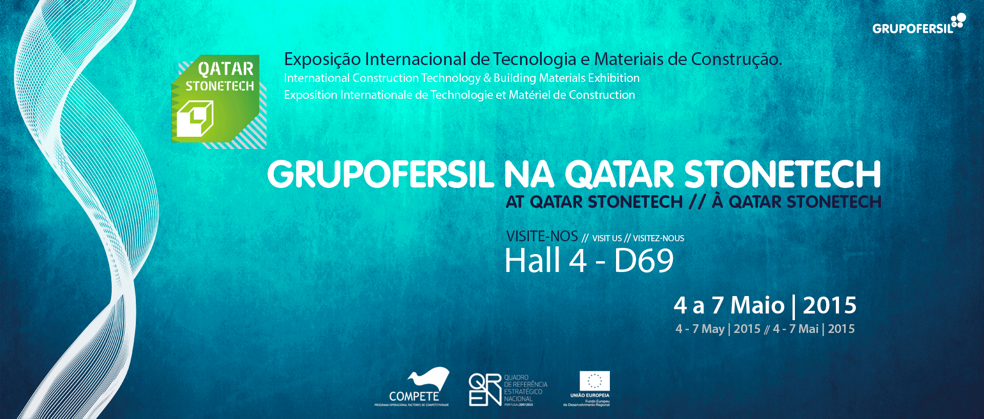 Ibotec na Stonetech 2015 - Qatar Grupo Fersil